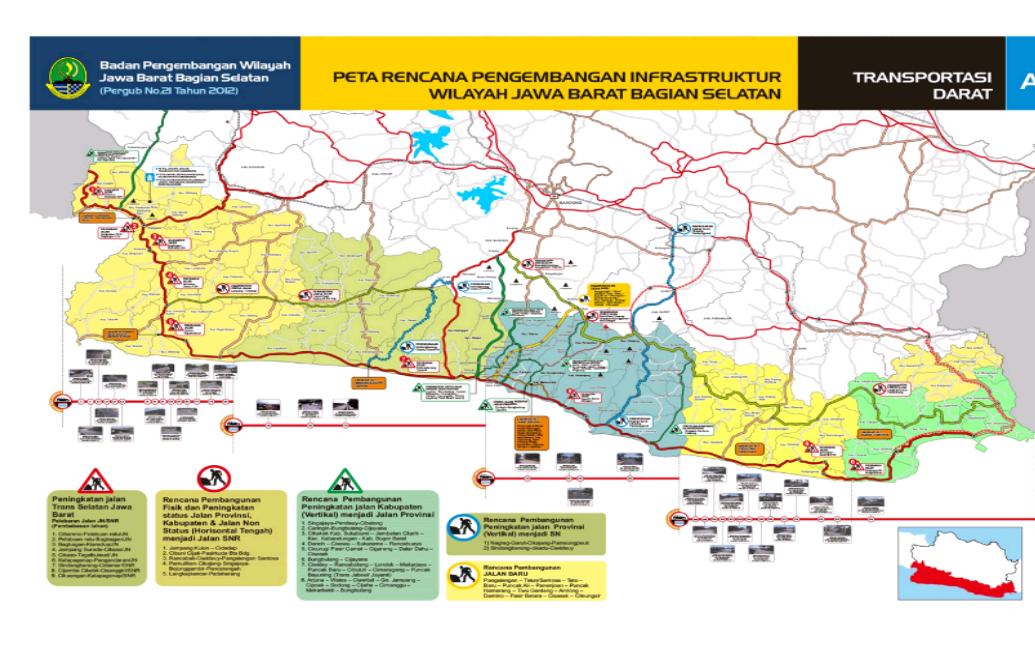 Jaringan Jalan Jabar Selatan Tidak Dilengkapi Infrastruktur Perhubungan Kabarpriangan Com